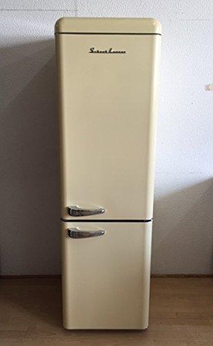 Retro / SchaubLorenz / A+ / Kühl-Gefrierkombination / 249 B-CB / Breite 55cm / Creme glanz