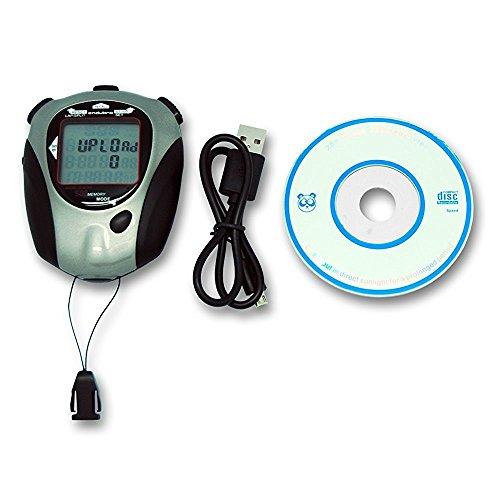 Endubro js-9006p - cronometro manuale digitale - 500 memorie - possibilitá di scaricare i dati su computer e stamparli