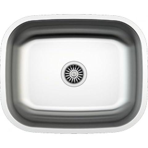 Plan Vasque Verre - Évier/ lavabo Mizzo Sino 520 - évier