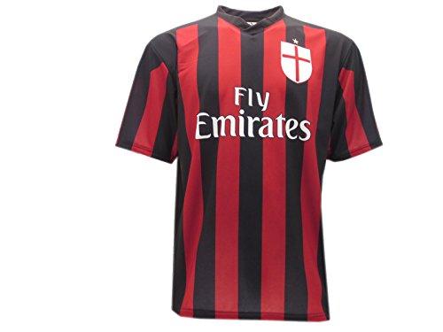 Maglia calcio replica milan - prodotto ufficiale 2015-2016 (10 anni)