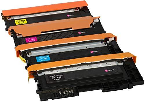 4er Set Premium Toner kompatibel für Samsung Xpress SL-C430 C430W SL-C480 C480FN C480FW C480W CLT-404S | Schwarz 1.500 Seiten & Color je 1.000 Seiten -