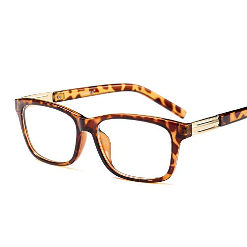 Yiph-Sunglass Damen Brillengestell Mehrfarbig Leopardenmuster