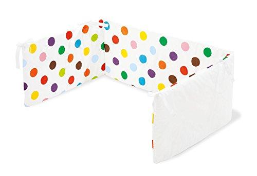 Pinolino 650666-0 - Nestchen für Kinderbetten, sieger design for Pinolino - Dessin 'Dots' Dot Keil