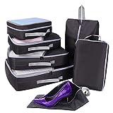 Best Cubi di viaggio imballaggio - Set di 7 Organizzatori di viaggio, Imballaggio Cubi Review