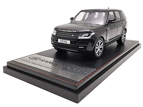 LCD Models LCD43001BL - Land Rover Range Rover SV Autobiography Dynamic 2017 Black - maßstab 1/43 - Sammlungsmodell - diecast Lcd-land Rover