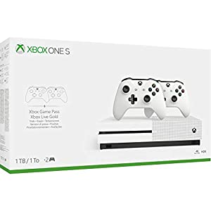 Console Microsoft CSL Xbox ONE S 1TO 2 Manetts