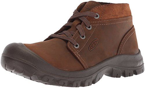 KEEN Men's Grayson Chukka-M Hiking Shoe, Mid Brown/Scylum, 11.5 M US