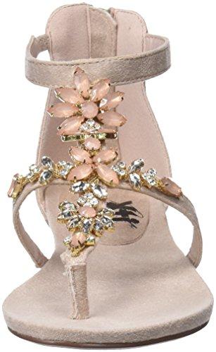 Xti 47752, Sandales Bride Cheville Femme Rose (Nude)
