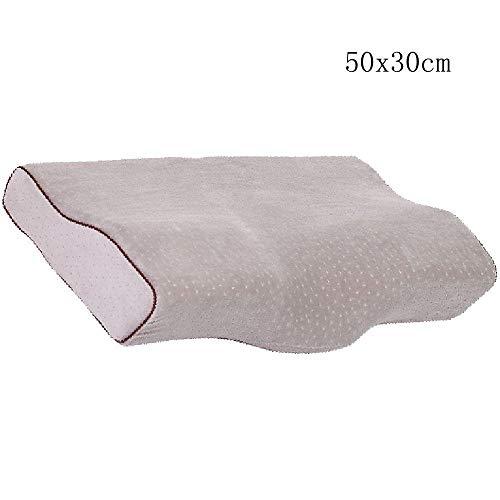 Almohada ortopédica para la salud almohada de espuma de memoria Cervical...