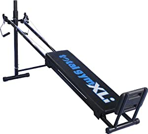 The Total Gym® is a versatile piece of home gym equipment made to deliver total body results. Perfect for all fitness levels, the offers over 60 exercises to tone and strengthen major muscle groups. Add training variety with accessories, including a dip bar, squat stand, leg pulley and multi-function thritingetfc7.cf: $