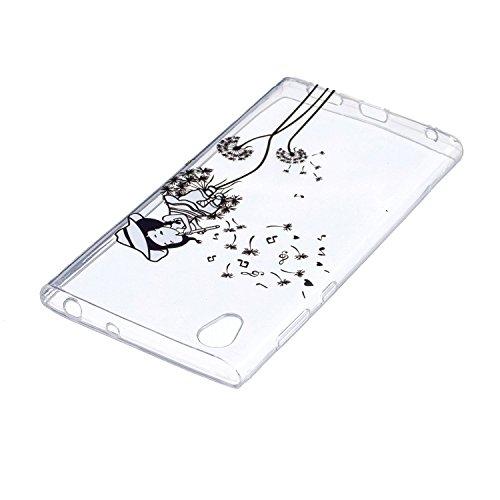 KANTAS 3X Coque Silicone Transparente pour Sony Xperia XA1 Ultra TPU Doux Back Case Caoutchouc Gel Etui Clair Ultra Mince Coquille Slim Fit Flexible Housse Silicone Souple Rubber Soft Clear TPU Bumper 6