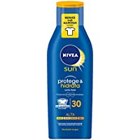 Nivea Sun - Crema solar hidratante Protege & Hidrata FP30 - Protección UV alta - 400 ml