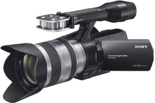 Sony NEX-VG20EHB Full HD Camcorder (Flash, 16 Megapixel, CMOS Exmor Sensor, 7,6 cm (3 Zoll)-Touch-Display) inkl. 18-200 mm Objektiv schwarz