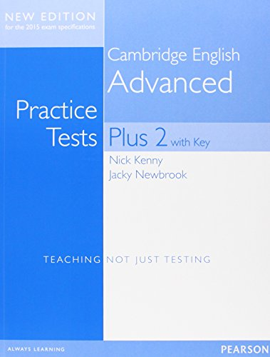 Cambridge advanced practice tests plus. Student's book with key. Con espansione online. Per le Scuole superiori