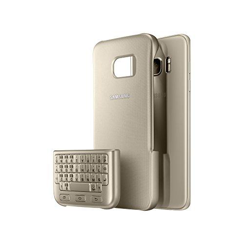 Samsung Keyboard Cover Schutzhülle für Galaxy S7 Edge, gold