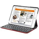Funda con teclado Canvas de Logitech para iPad Air 2 (MARS RED ORANGE )