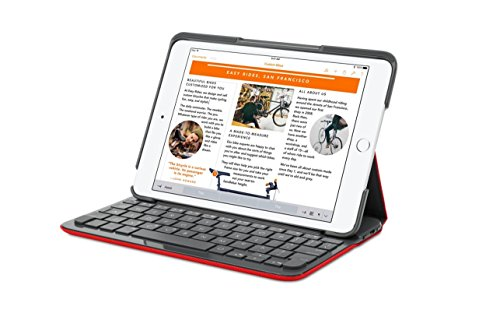 Funda teclado Canvas Logitech iPad Air 2 MARS RED