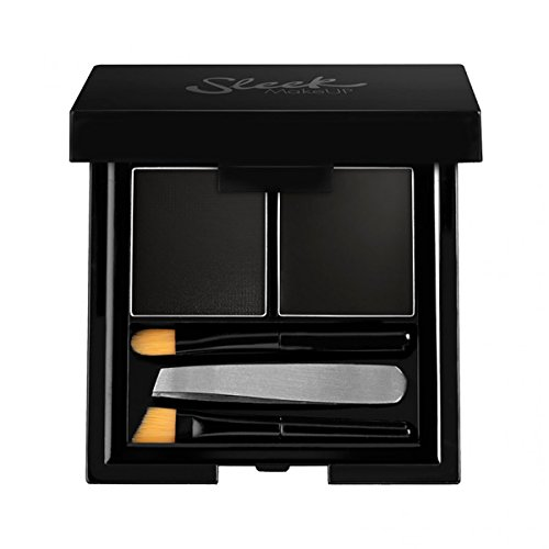 Sleek Make Up Brow Kit Black 3.8g