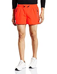 Superdry Mens Polyester Shorts (5054265582448_M71002PM_L_Fluro Orange)