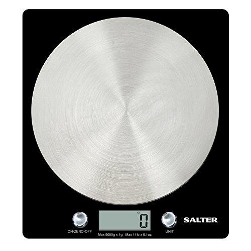 Salter Digital Kitchen Weighing Scales – Black