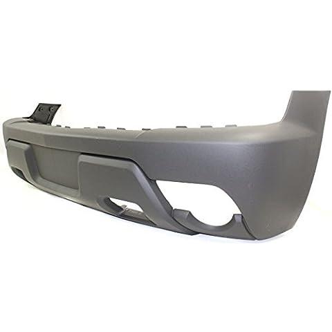Diften 105-A7619-X01 - New Bumper Cover Facial Front Raw -
