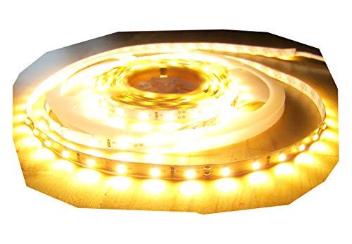SET LED STRIP STREIFEN LEISTE 10mt warmweiß warm weiß 600LED inkl. Netzteil (Pro-Serie) 24V TÜV/GS geprüft, 2560Lumen von AS-S