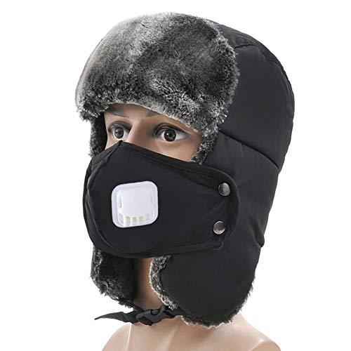 Unisex orejeras Hombre Mujer gorro ruso deporte esquí