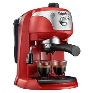 delonghi ecc220 pump espresso machine red. Black Bedroom Furniture Sets. Home Design Ideas