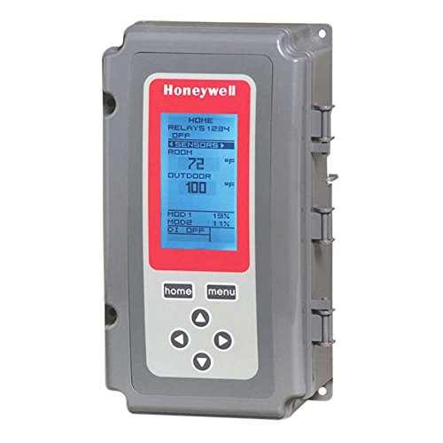 Honeywell T775B2040 Electronic Remote Controller, 4 SPDT, 2 Floating Outputs, 1 Sensor Included, 2 Sensor Inputs by Honeywell -