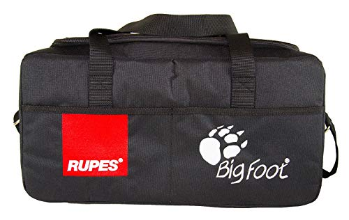 RUPES Bigfoot Schwarze halbstarre Tasche Aufbewahrungstasche Reisetasche