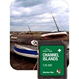 Satmap MapCard: The Channel Islands (Adventure Map 25k)