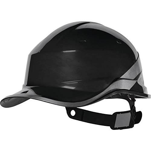 """Delta Plus DIAM5 \""""Baseball Cap\"""" Form Schutzhelm, schwarz, Einheitsgröße"""