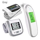 Best Oximeters - Fingertip Pulse Oximeter Digital Thermometer 3PCS Ear Health Review