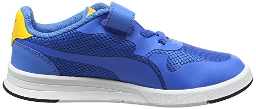 Puma Icra Evo V Ps, Sneakers Basses Mixte Enfant Bleu (French Blue-french Blue 04)