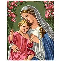 Suchergebnis Auf Amazonde Für Jesus Bild Malen Nach Zahlen