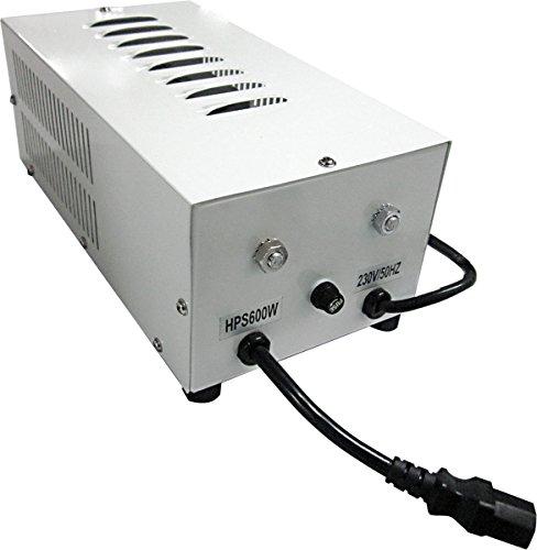 Hydrofarm Anzuchtsysteme Magnetisches Vorschaltgerät Xtrasun, 600 W, weiß