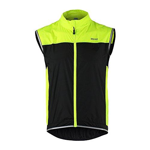 Lixada Gilet Da Ciclismo Ultrasottile Leggera Senza Maniche Cappotto Giacca in Esecuzione Biciclette Gilet Antivento