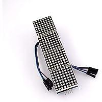 Módulo de matriz matricial MAX7219 Microcontrolador 4 en una pantalla con línea 5P