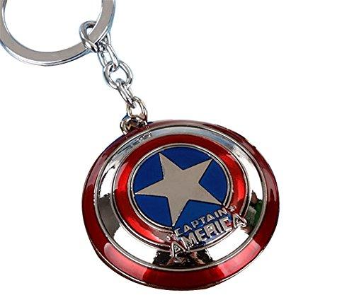 Captain America Schild Anhänger Schlüsselanhänger