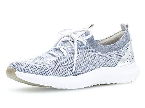 Gabor  - Rollingsoft  Damen Slip-On Sneaker 26.980.16,39 EU,Cielo Kombi