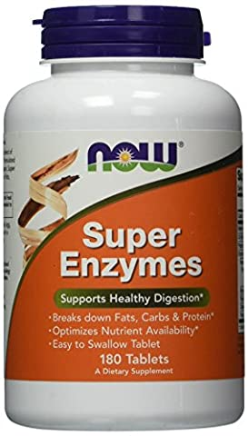 Now Foods - Super Enzymes, 180 Tablets