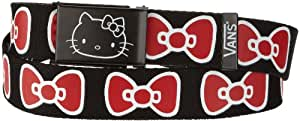 Vans Damen Gürtel Hello Kitty Bows, (hello kitty) black/true white, One Size, VQX36V7