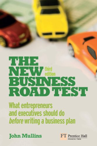 The new business road test what entrepreneurs and executives should the new business road test what entrepreneurs and executives should do before writing a business fandeluxe Image collections