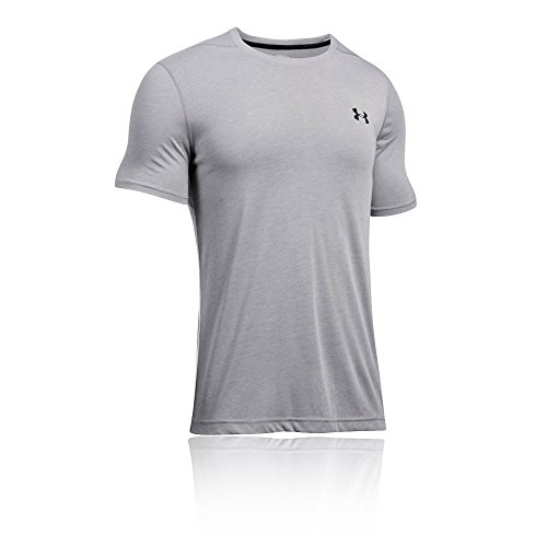 Under Armour Threadborne Fitted SS Training T-Shirt - SS17 Grey
