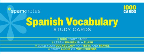 spanish-vocabulary-sparknotes-study-cards