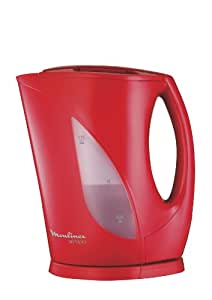 Moulinex BY104530 Bouilloire Principio Rouge Glossy