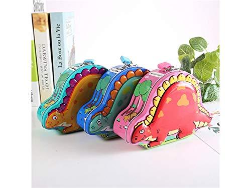 Hucha dinosaurio creativo diseño cerdito llaves niños