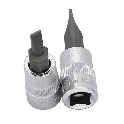 Kraftwerk 102055 Verre pointe rainurée avec insertion 5,5 mm 1/4
