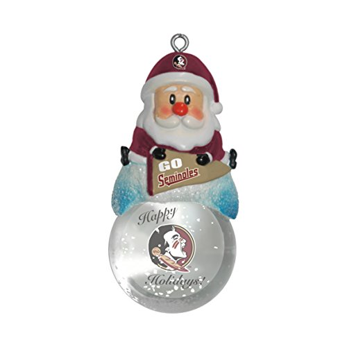 Boelter Brands NCAA Florida State Seminolen Snow Globe Ornament