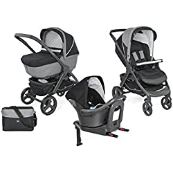 Chicco 2018 Trio StyleGo Up Oasys i-Size Jet Black